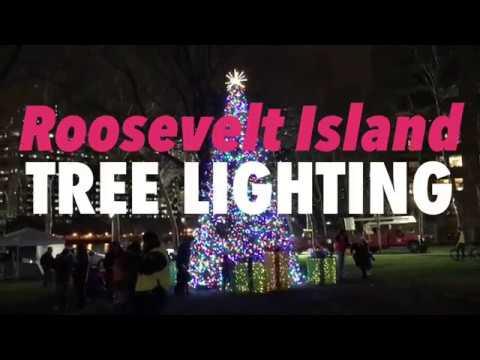 2017 Roosevelt Island Tree Lighting