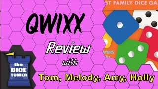 Qwixx Review - with the Vasel Girls
