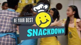 Hummus | Joshua Rush vs. Kayla Maisonet | Be Your Best Snackdown | Disney Channel