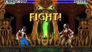 Mortal Kombat 3 - Nightwolf (Sega Genesis) (By Sting)