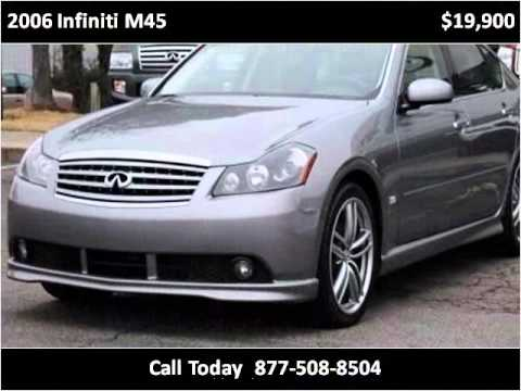 2006 Infiniti M45 available from Triangle Imports