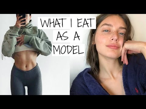 What I Eat in a Day as a Model | Jessica Clements