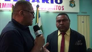 Vereador Luizinho visitou empresa agrícola na chapada do Apodi em Quixeré
