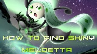 Roblox: Project Pokemon| HOW TO GET SHINY MELOETTA!