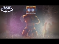 360° Five Nights At Freddy's - FREDDY VISION - Minecraft 360° Video