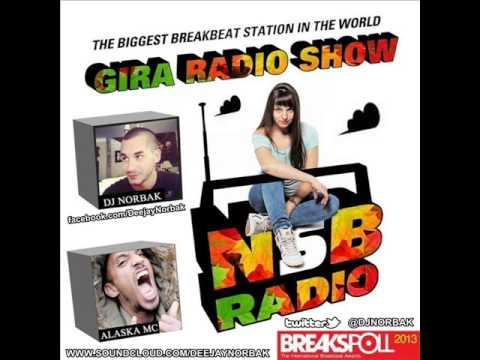 DJ NORBAK - Guest Mix For Gira Radio Show - NSB Radio [04.10.2013]