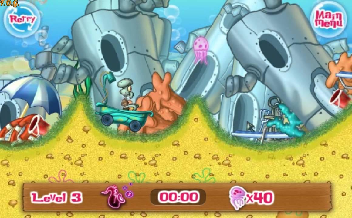 Видео игра гонки губка боб что будет в закрытой школе в конце сериала