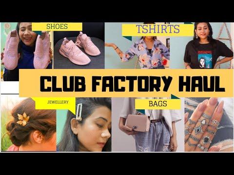 ✅ ✅ HONEST CLUB FACTORY REVIEW + TRY-ON HAUL - SHOES, TSHIRTS, SLING BAGS | RAKHI SINGH