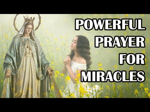 Powerful Prayer for Miracles | Our Lady of Miracles Powerful Prayer | Our Lady of Miraculous Medal
