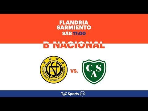 Primera B Nacional: Flandria vs. Sarmiento | #BNacionalenTyCSports