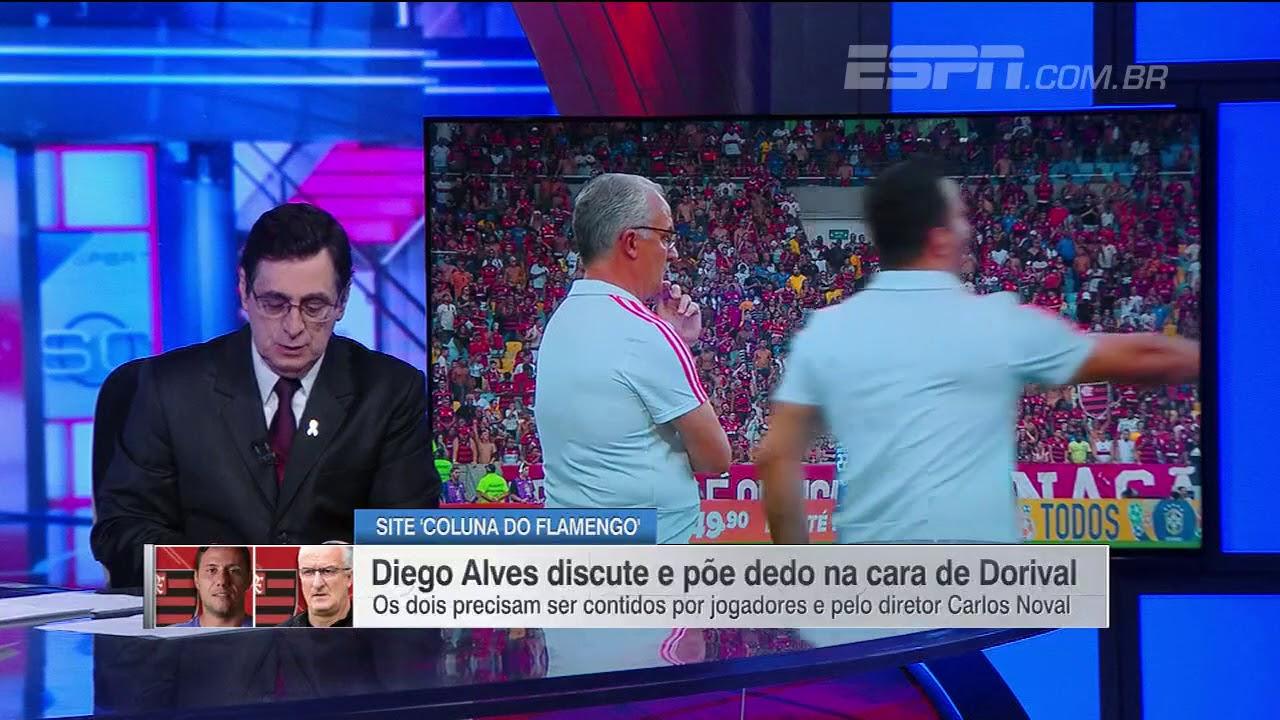 Diego alves bate boca com dorival jr  e3a90b48012d7