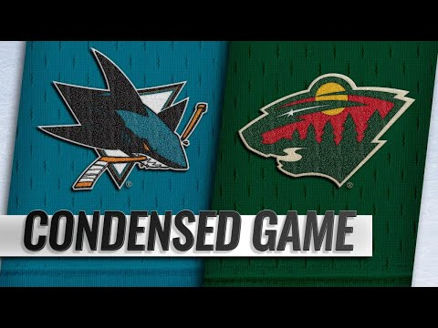 12/18/18 Condensed Game: Sharks @ Wild