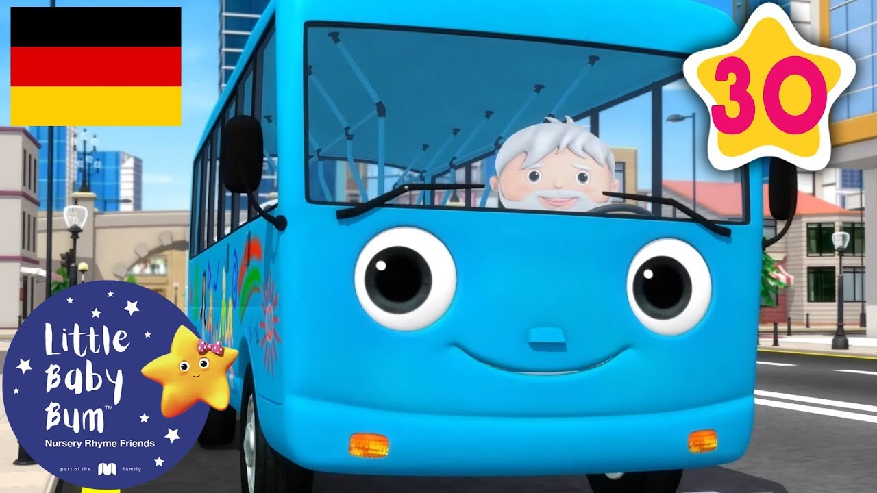 die r der vom bus teil 15 autos f r kinder kinderlieder little baby bum deutsch youtube. Black Bedroom Furniture Sets. Home Design Ideas
