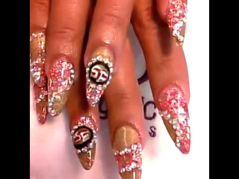 49ers Nail Design You