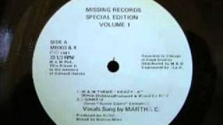 Krazy K - M & M Theme - Marcus Mixx - 1987