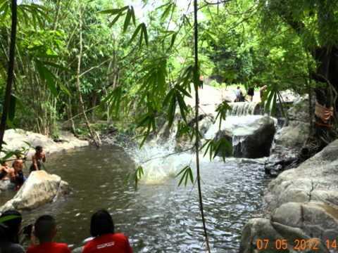 น้ำตกเก้าชั้นที่สวนผึ้ง ราชบุรี