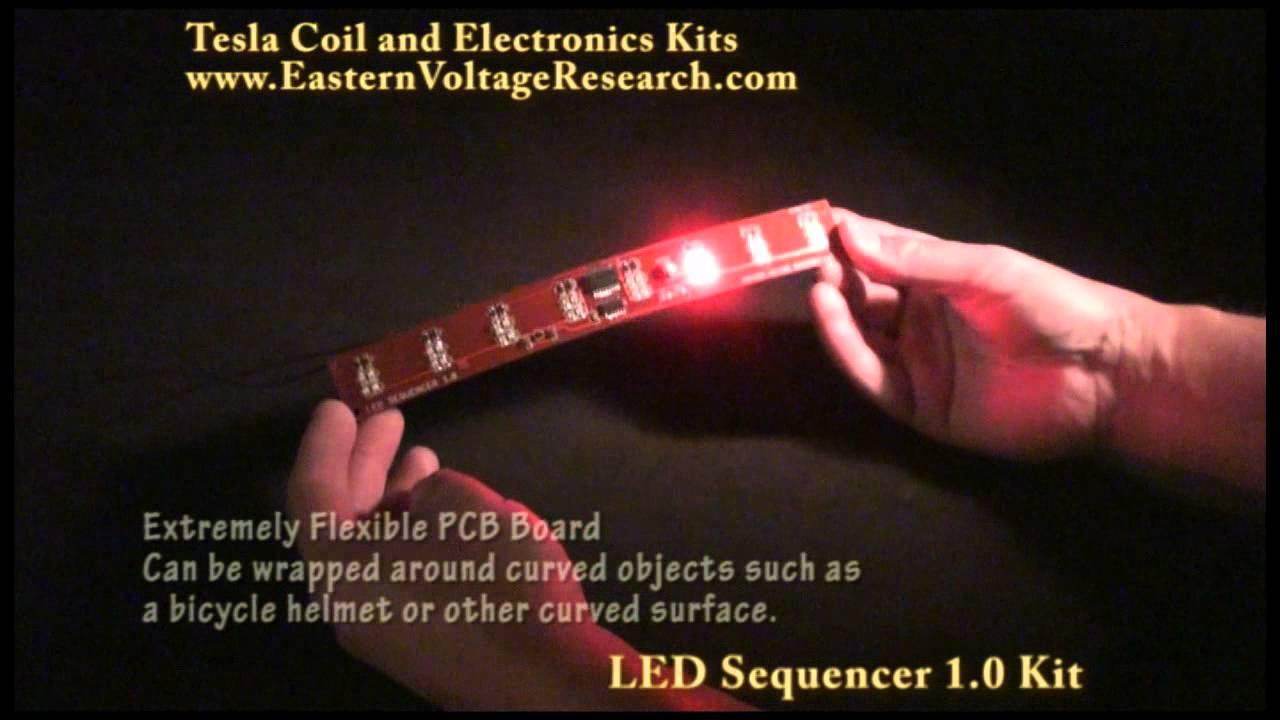 LED Sequencer  Chaser Kit  YouTube