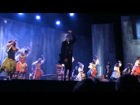"""1789,les amants de la bastille """"A quoi tu danses"""" Palais des sports Paris 30/10/2012"""