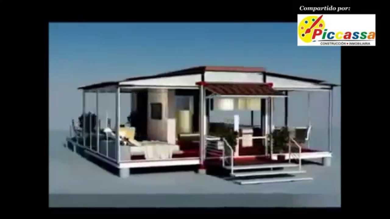 Casas con contenedores mar timos ingenier a moderna - Casa hecha con contenedores ...