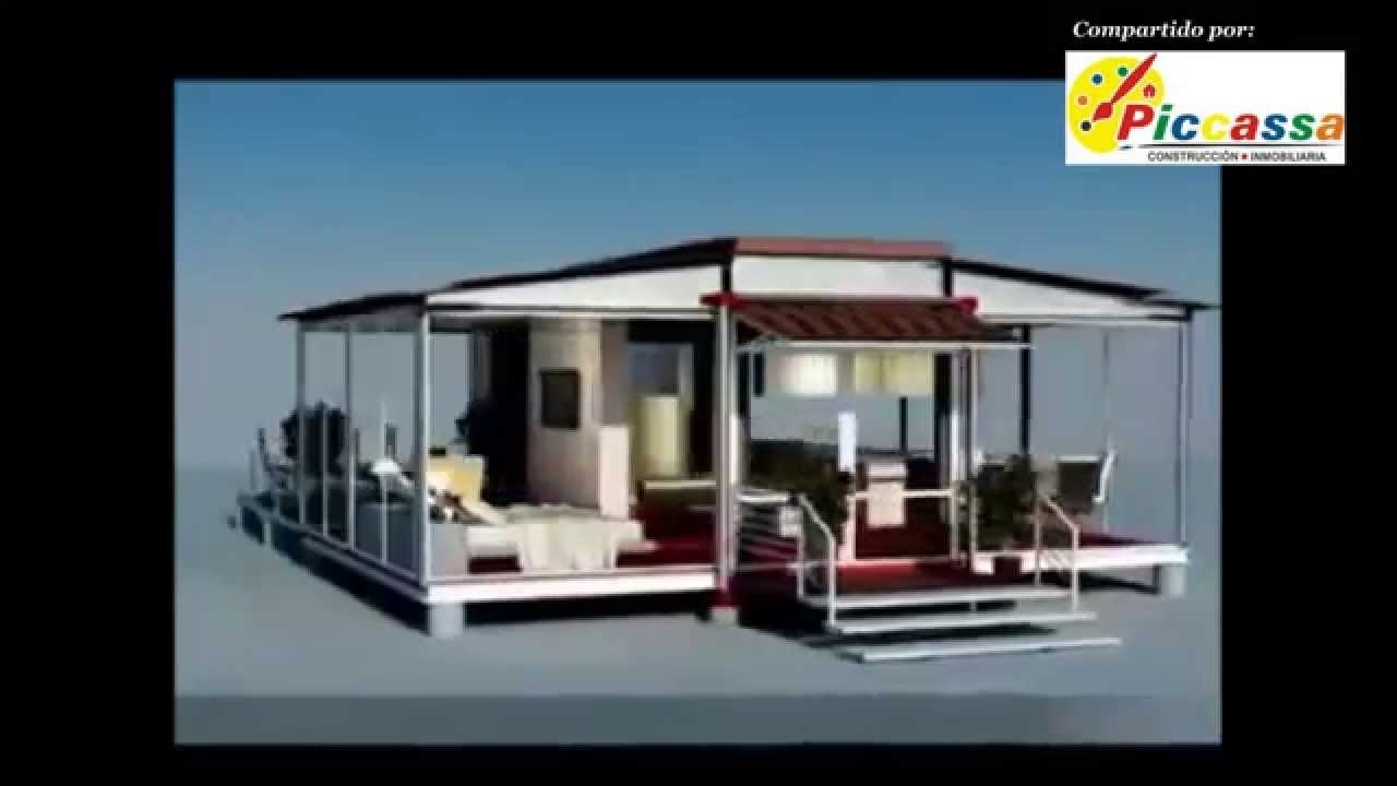 Casas con contenedores mar timos ingenier a moderna youtube - Como hacer una casa con un contenedor maritimo ...
