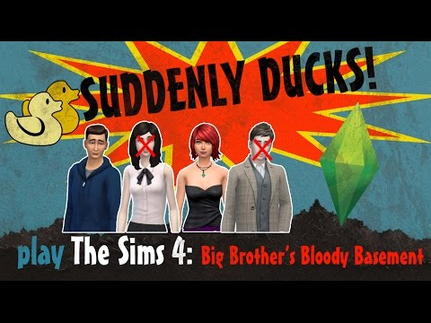 Suddenly Ducks! play The Sims 4: BBBB (06) - Part 3