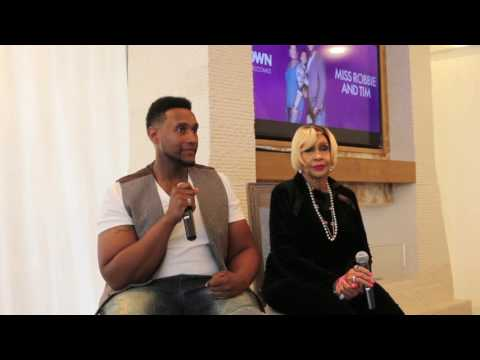Ms Robbie and Tim Montgomery Talk About 'Sweetie Pie's Part 1