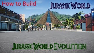 How to Build Your Own Jurassic World in Jurassic World Evolution- Tutorial/How to