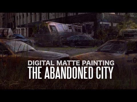 Digital Matte Painting Tutorial - The Abandoned city