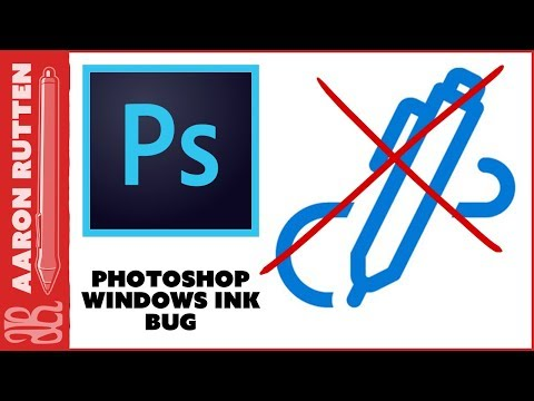How to Disable WINDOWS INK - Photoshop Bug with Wacom Tablets (2018)