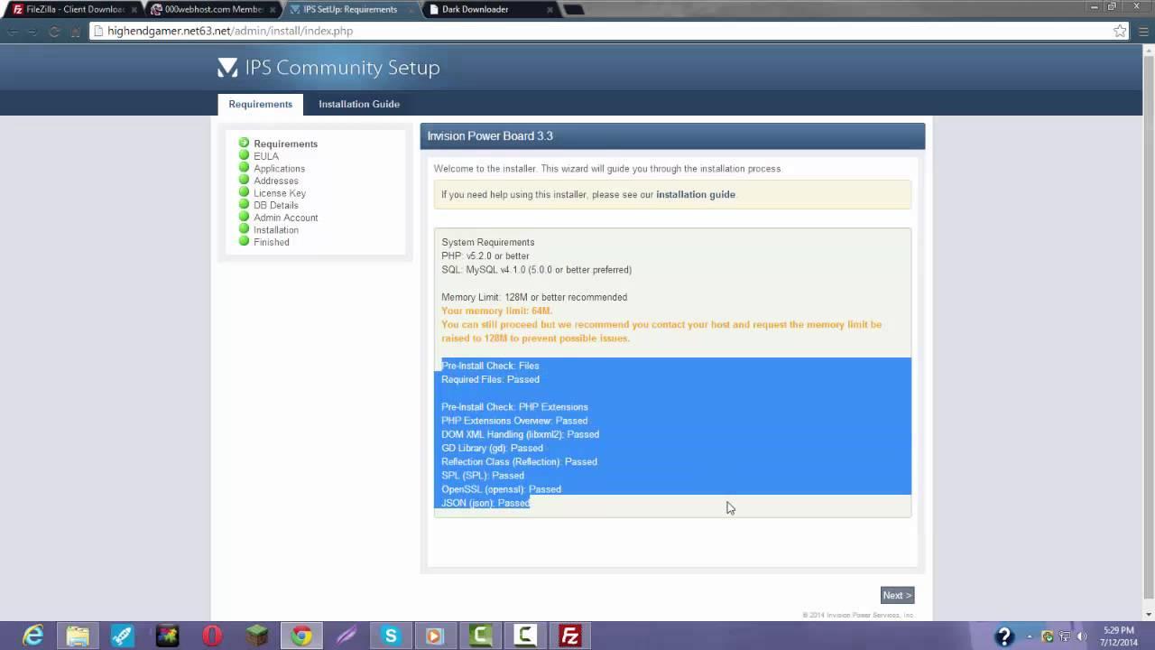 Бесплатный хостинг для форума ipb как поменять хостинг на рег ру