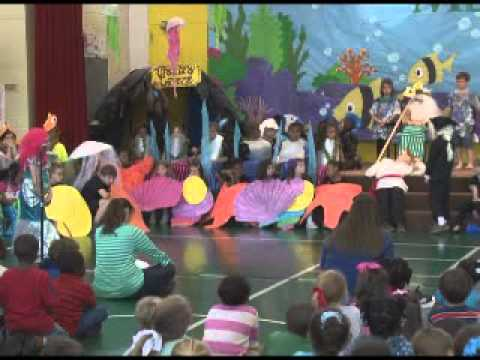 "Brewton Elementary School 2nd Grade Play, ""The Little Mermaid"""