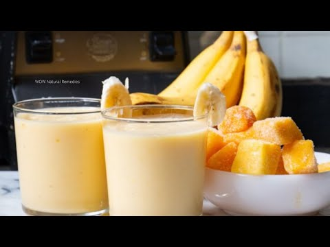 Take Once Daily Gain Weight Naturally II Make Protein Shake Without Protein Powder