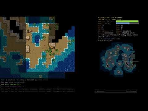 15 Rune Centaur Air Elementalist Part 6 - Dungeon Crawl Stone Soup