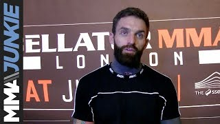 Bellator London: Aaron Chalmers post-fight interview