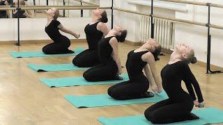 Открытый урок старшей группы по классическому танцу