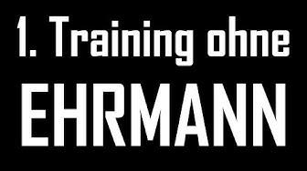1  Training ohne die Torwartlegende Gerry Ehrmann