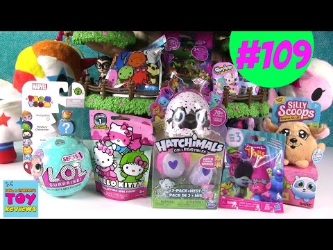 Blind Bag Treehouse #109 Unboxing Hatchimals Colleggtibles LOL Surprise Trolls | PSToyReviews