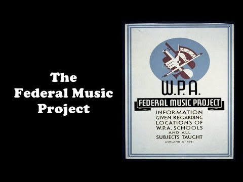 History Brief: the Federal Music Project