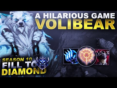 A HILARIOUS GAME ON VOLIBEAR TOP! - Fill to Diamond S10 | League of Legends