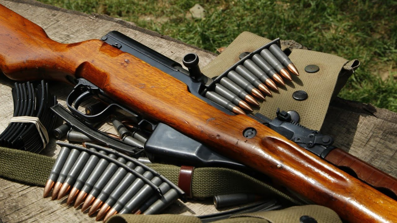 The Russian Secret To Loading Your Sks Rifle Using Stripper Clips - Youtube-5542