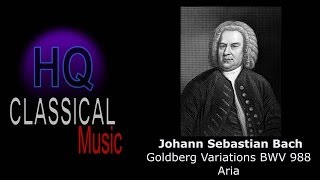 BACH - Goldberg Variations BWV 988 Aria (Hannibal theme) - High Quality Classical Music HQ Piano
