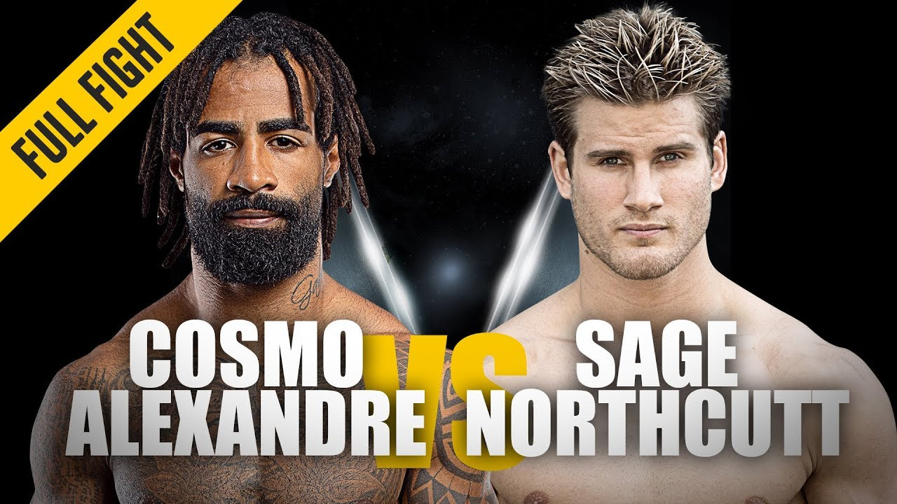 Cosmo Alexandre vs. Sage Northcutt   ONE: Full Fight   Fast & Furious   May 2019