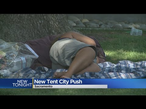Plan Would Move Sacramento's Homeless Into Tent Housing Facility