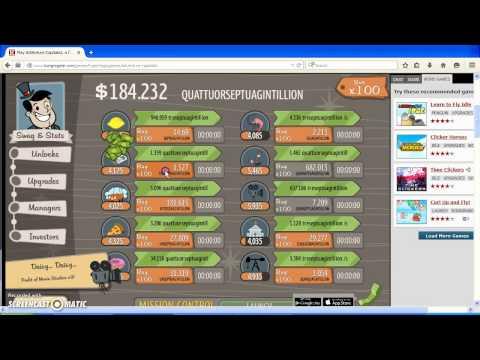 AdVenture Capitalist - I... Won? Gameplay Pus Import Code