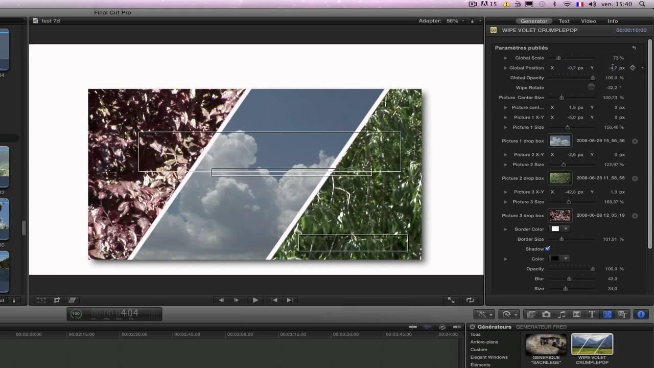Free template Splitscreen - YouTube
