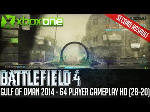 "Battlefield 4 BF4 ""Gulf of Oman 2014"" Xbox One 64 Player Gameplay HD [28-20]"