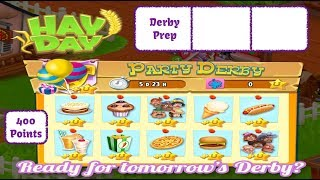 Hay Day Live Stream - Hay Day Party Derby - Pre Derby Prep, Stacking