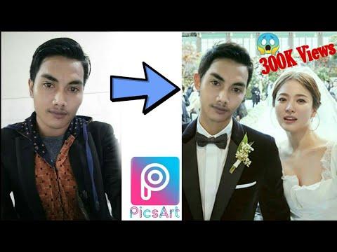 Cara Edit Ubah Wajah Orang Dengan Aplikasi Picsart Dengan Android Simple Tutorial 01 Youtube