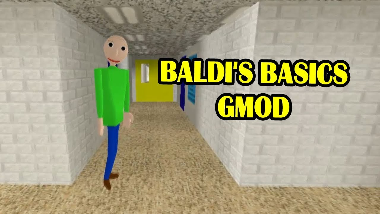 BALDI'S BASICS IN EDUCATION AND LEARNING GMOD