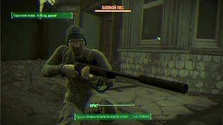 Ниндзя-снайпер Fallout 4